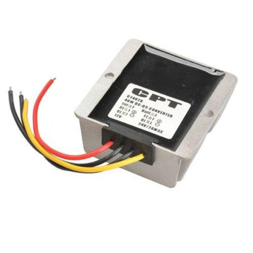 Waterproof 12V to 24V 48W Voltage Booster Power Converter Step Up Regulator