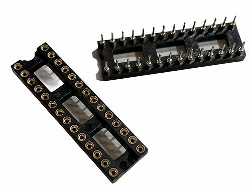 1 PCs 28 pin IC Socket round hole HIGH QUALITY