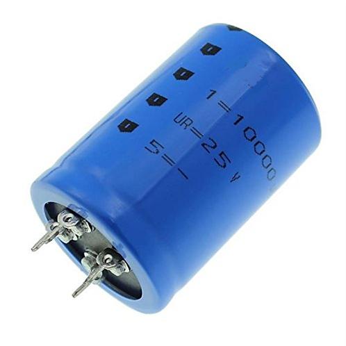 1 PCs CAP ALUM 10000UF 25V RADIAL Can - Solder Lug CAPACITOR ORIGINAL