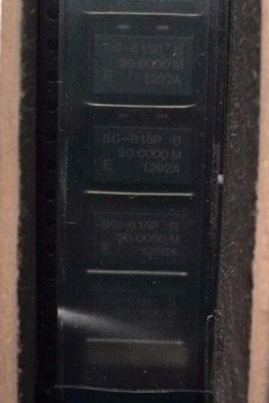 CRYSTAL SG-615P 20MHz OSC XO 20.000MHZ CMOS TTL SMD SM ORIGINAL OEM PARTS