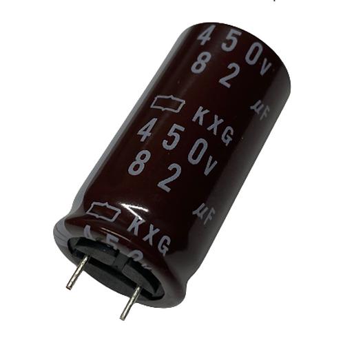 1 PCS NIPPON CAP 82UF 450V RADIAL CAPACITOR (REPLACING FOR 420V 400V 350V 250V )