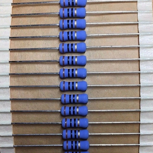 50 PCs SEI RES 10 OHM 5% 1W Metal Film Resistor - ORIGINAL OEM PARTS