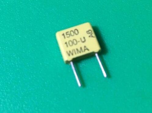 10 PCs Film Capacitor 1500PF 1.5nF 152 100V DC 63V AC 5% Cap ORIGINAL OEM