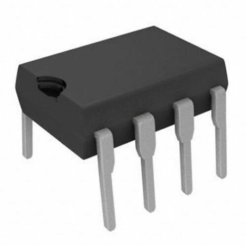 5 PCS STMICROELECTRONICS LM358P  OP AMP, DIP-8 (CROSS OF LM358AN & LM358N )