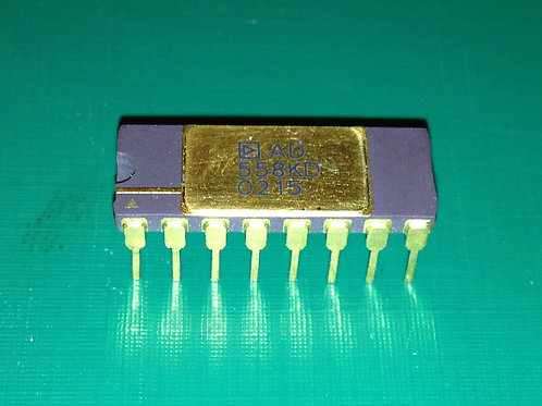 AD558KD - DACPORT Low Cost, Complete uP-Compatible 8-Bit DAC - DIP16