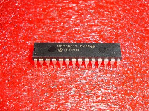 1 PCs MCP23017-E/SP DIP28 16-Bit I/O Expander with I2C Interface IC