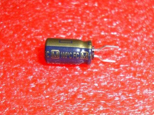 25 PCs Cap AL 47uF 47MF 50V Radial (REPLACING FOR 40V 35V 25V 16V 10V 6.3V )