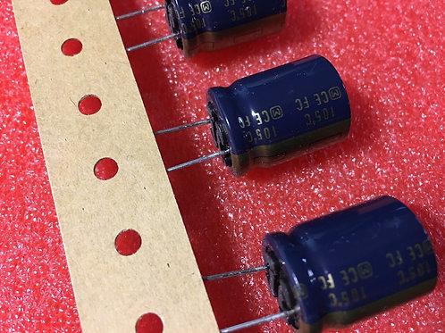 10 PCs PANASONIC 470uF 470MF 63V Capacitor (Replacing for 50V 35V 25V ) ORIGINAL