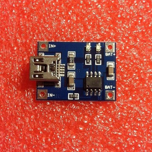 1 PCs 5V Mini USB 1A Lithium Battery Charging Board Module Full Charge 4.2V