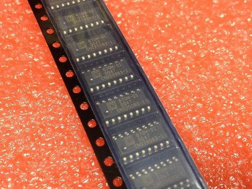 Integrated Circuit Systems ICS670M-01 Single CLOCK DRIVER, 16 Pin, Plastic, SOP