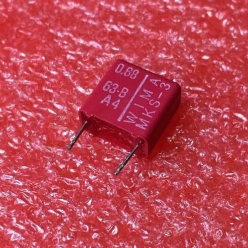 5 PCs Film Capacitor 0.68uF 680nF 684 63V 10% Cap