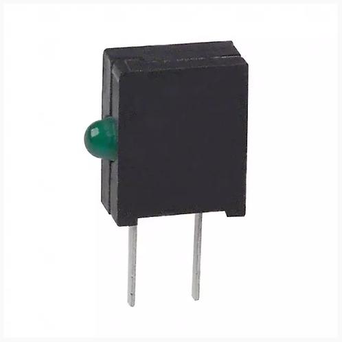 5 Pcs LED Circuit Board Indicator GREEN RIGHT ANGLE LED 2MM ORIGINAL OEM