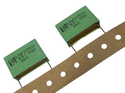 1 PCs VISHAY Film Capacitor 250V 2.7uf 2.7mf 2700nF CAP