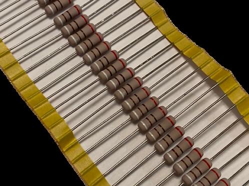 1000 PCs Metal Oxide Resistor 910 OHM 2W 2% (replacement of 1W 1/2W 1/4W )