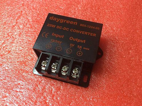 12V 24V to 5V 5A DC DC Step Down Converter Regulator Car
