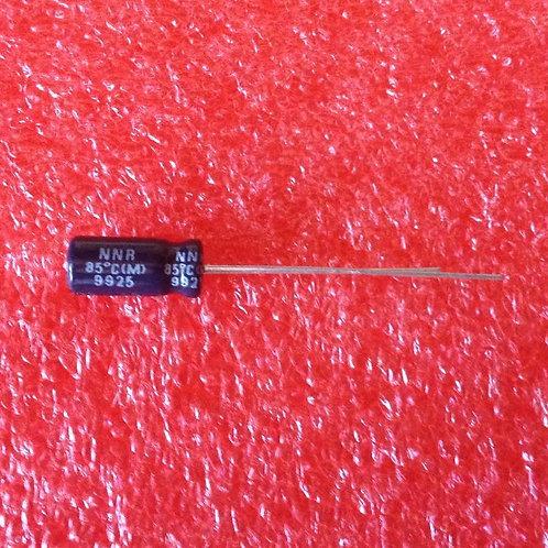 20PCs NICHICON CAPACITOR 10uF 10MF 25V Radial 5X11 (REPLACING FOR 16V 10V 6.3V )