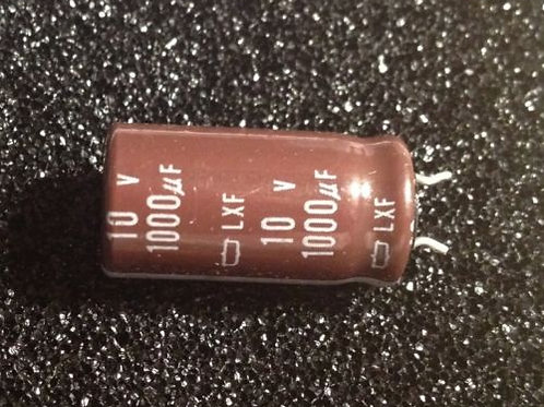 20 PCS AL CAPACITOR 1000UF 1000MF 10V (REPLACING FOR 6.3V 2.5V )