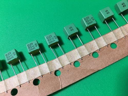 10 PCs 0.01uF 10nF 103 63V 2.5% Film Capacitor ORIGINAL OEM