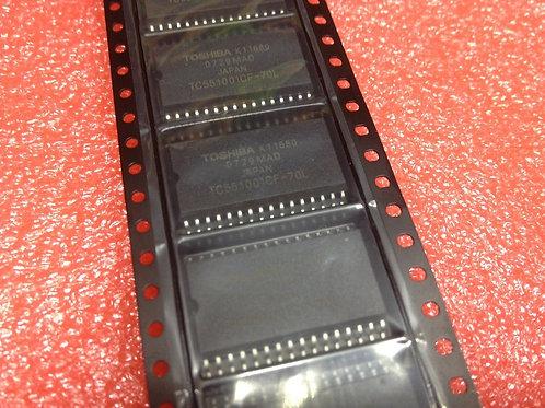 1 PCs Toshiba TC551001CF-70L - Static RAM, 128Kx8, 32 Pin, Plastic, SOP