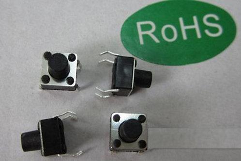 10pcs Micro switch push button 6 * 6 * 5 mm