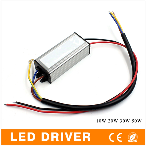 10W LED Driver Adapter Transformer AC 85V-265V to DC28-45V WATERPROO