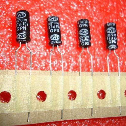 100 PCS ALUMINUM CAPACITOR 47UF 47MF 10V 20% RADIAL (Replacing 6.3V ) ORIGINAL
