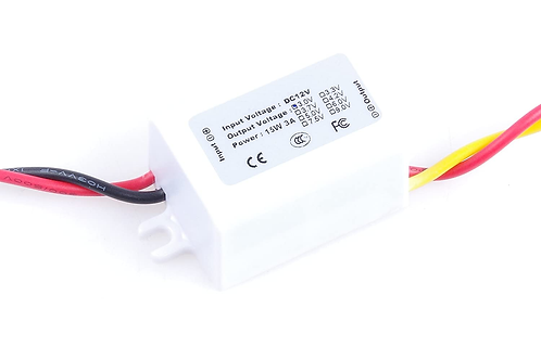 DC/DC Converter 12V Step down to 3V 3A 15W Power Supply Module Auto Recovery