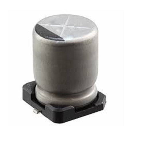 5 PCS Panasonic SM CAP 100UF 100MF 6.3V SMT 6.3 x 5.7mm ORIGINAL SMD capacitor
