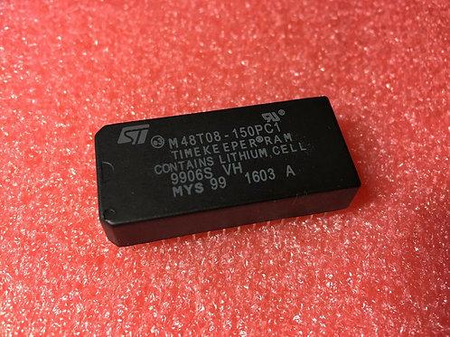 1 PCs STMicroelectronics M48T08-150PC1 Real Time Clock 64K (8Kx8) 150ns  DC=1603
