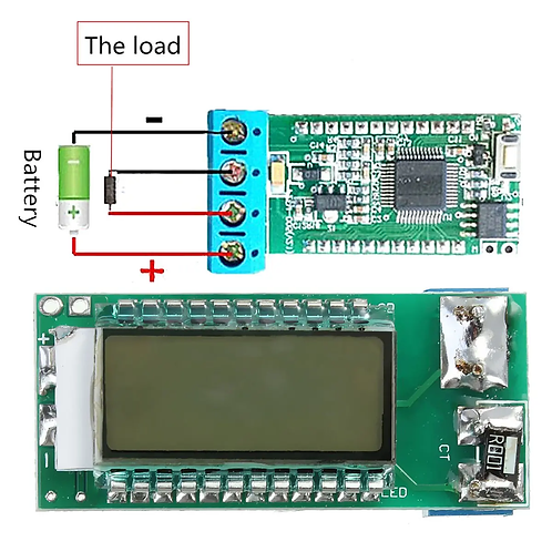 18650 26650 Digital LCD Display Lithium Li-ion Battery Tester Voltage/Current
