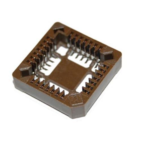 10 PCs AMP 28 pin 28PLCC IC Socket SMD SM FOR PLCC-28 ORIGINAL