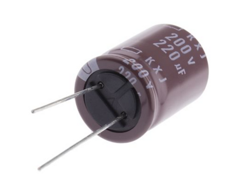 1 PCS NIPPON AL CAPACITOR 220UF 220MF 200V (Replacing 160V 100V 80V 63V 50V )