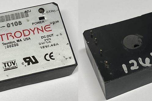 ASTRODYNE MDCA-0108 AC 110V - 240V POWER SUPPLY to 5V 1A 12V 0.42A