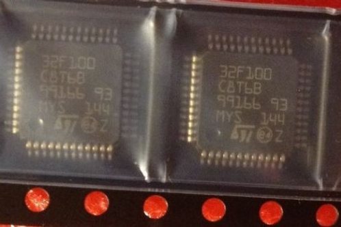 1PCS ST STM32F100C8T6 LQFP-48 STM32F100