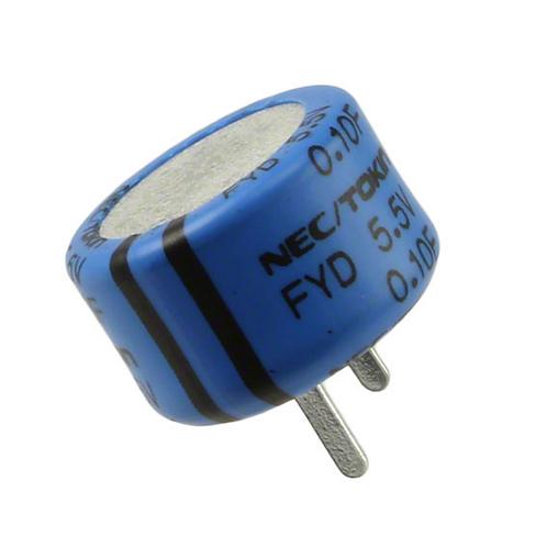 NEC-Tokin CAPACITOR SUPER .1F 0.1F 5.5V SUPERCAP Radial Super Cap ORIGINAL OEM