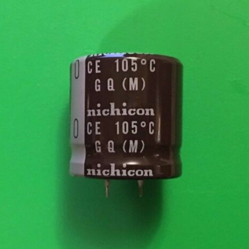 2 PCS SNAP-IN Capacitor 3300UF 3300MF 63V RADIAL (REPLACING FOR 50V 40V 35V )
