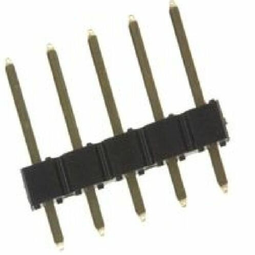 10 PCS FCI  68000-105HLF BOARD-BOARD CONNECTOR HEADER 5WAY 5 PINS 1ROW