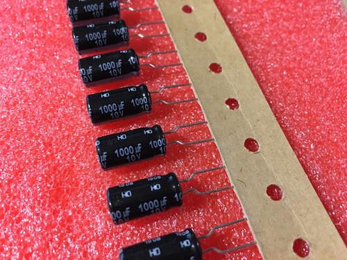 Panasonic Capacitor LAECs Capacitor 10x Elco 1000µF 1000uF 6,3V 85 ° M