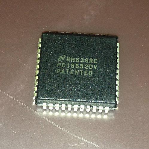 1 PCs PC16552DV - Dual Universal Asynchronous (CROSS OF ST16C2552CJ44 )