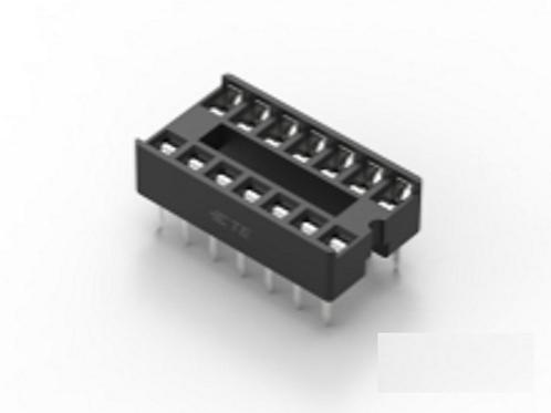 4 PCS TYCO 14 PIN 14PIN IC SOCKET FOR DIP14 14DIP DIP-14 ORIGINAL OEM