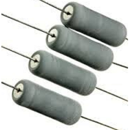 5 PCs RESISTOR 6W 470 OHM METAL OXIDE Axial RES 31x7.5mm (GOOD FOR 5W 3.75W 3W )