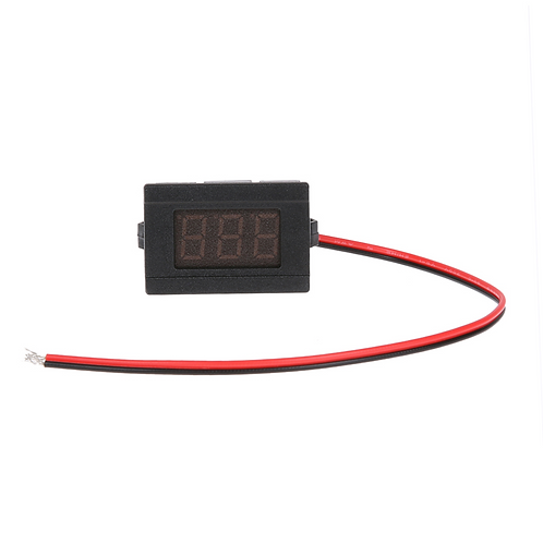 0.36 inch DC 4.5-30V Two Line Voltmeter Digital Display Volt meter Gauge - GREEN