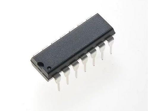 Fujitsu MB433 - 2-Input NAND-Function Logic Gate - DIP14