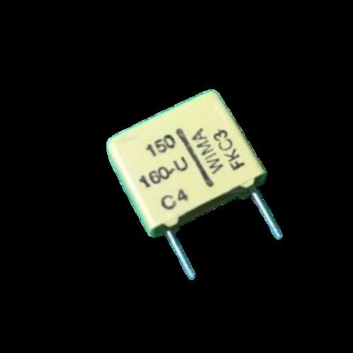 10 PCS WIMA Film Capacitor 150pF 0.15NF 5% 160V ORIGINAL OEM
