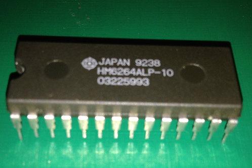 1 PCs Hitachi HM6264ALP-10 - 8K high speed CMOS static RAM - DIP28