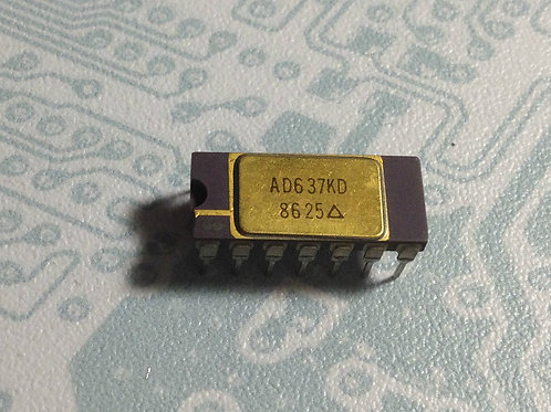 AD637KD - High Precision, Wideband RMS-to-DC Converter - DIP14