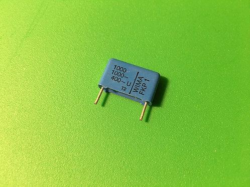 1 PCS WIMA Film Capacitor 1000pF 1NF 0.001UF 10% 1000V DC 400V AC ORIGINAL OEM