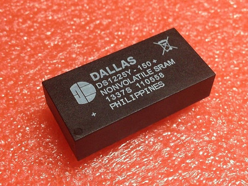 DS1225Y-150+ DS1225Y-150 - Static RAM with On-Chip Battery - DIP28 DC# 1337S