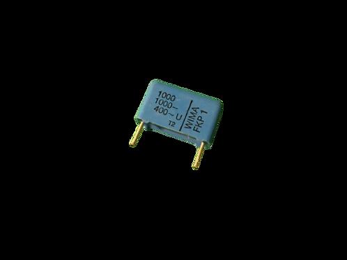 5 PCS WIMA Film Capacitor 1000pF 1NF 0.001UF 10% 1000V DC 400V AC ORIGINAL OEM