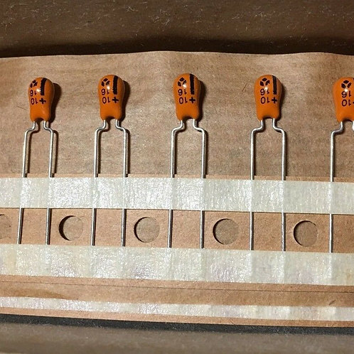 10 PCS Tantalum CAP 10uF 10MF 16V Tant Capacitor (Replacing for 15V 10V 6.3V )